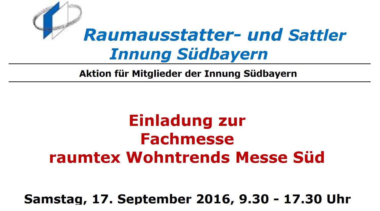 Raumausstatter wappen  Raumausstatter- und Sattler-Innung Südbayern